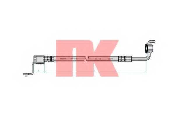 Тормозной шланг NK 8525110 - изображение 1