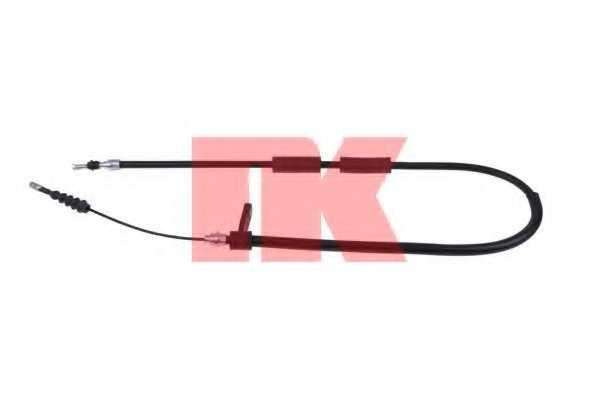 Трос стояночной тормозной системы NK 901018 - изображение