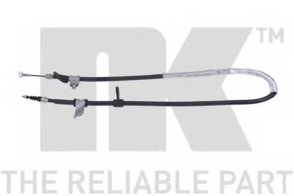 Трос стояночной тормозной системы NK 901019 - изображение