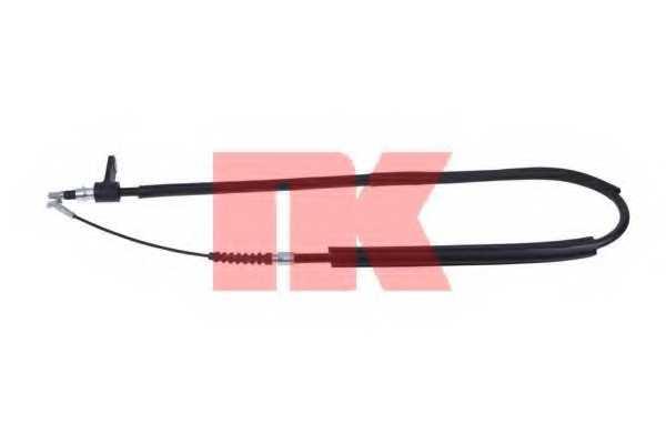 Трос стояночной тормозной системы NK 901021 - изображение