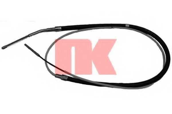 Трос стояночной тормозной системы NK 901511 - изображение