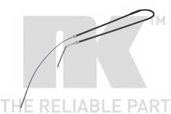 Трос стояночной тормозной системы NK 901516 - изображение