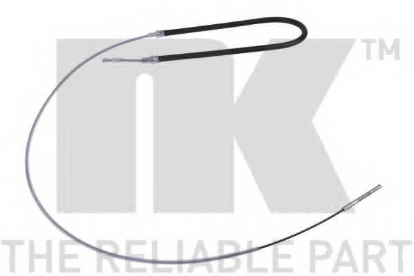 Трос стояночной тормозной системы NK 901518 - изображение