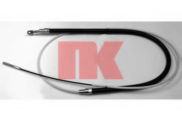 Трос стояночной тормозной системы NK 901521 - изображение