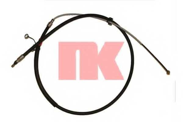 Трос стояночной тормозной системы NK 901530 - изображение
