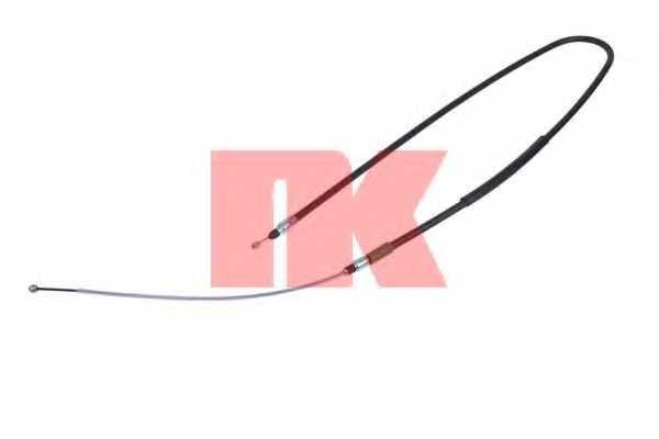 Трос стояночной тормозной системы NK 901535 - изображение