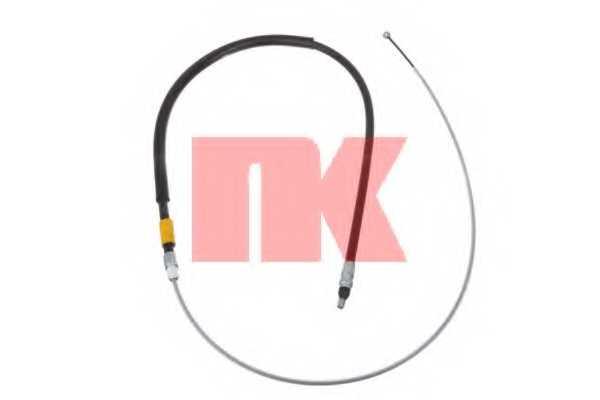 Трос стояночной тормозной системы NK 901545 - изображение
