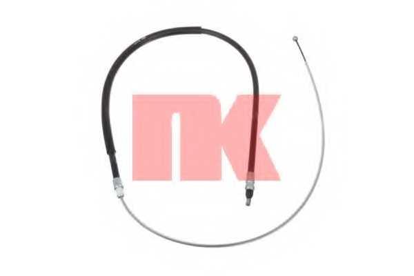 Трос стояночной тормозной системы NK 901546 - изображение