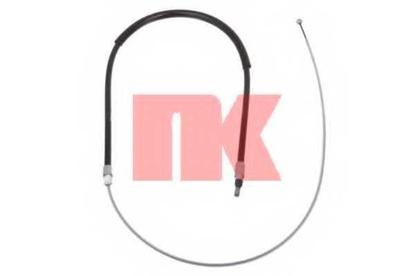 Трос стояночной тормозной системы NK 901547 - изображение
