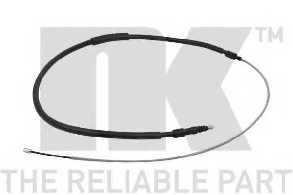 Трос стояночной тормозной системы NK 9019100 - изображение