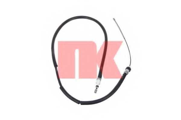 Трос стояночной тормозной системы NK 901937 - изображение