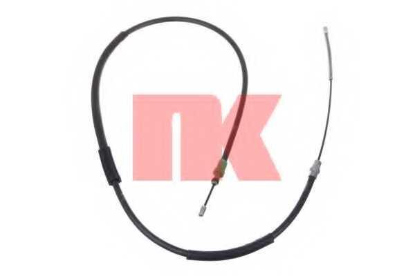 Трос стояночной тормозной системы NK 901940 - изображение
