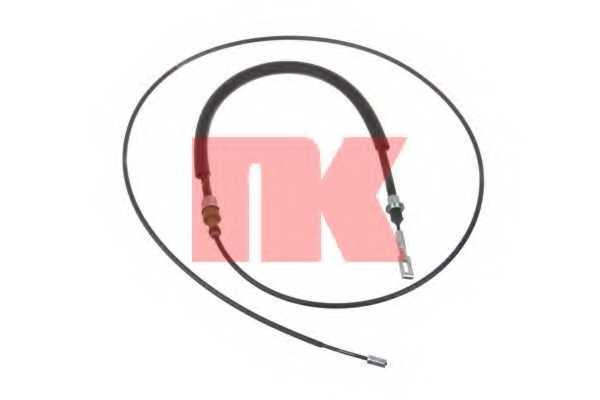 Трос стояночной тормозной системы NK 901947 - изображение