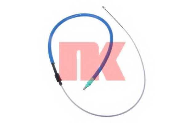 Трос стояночной тормозной системы NK 901952 - изображение
