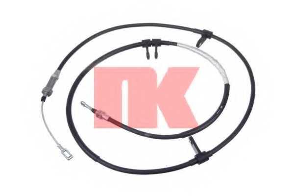 Трос стояночной тормозной системы NK 901969 - изображение
