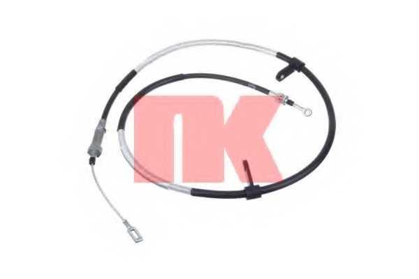 Трос стояночной тормозной системы NK 901971 - изображение