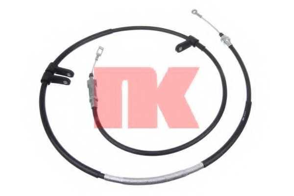 Трос стояночной тормозной системы NK 901972 - изображение