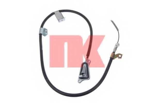 Трос стояночной тормозной системы NK 9022104 - изображение
