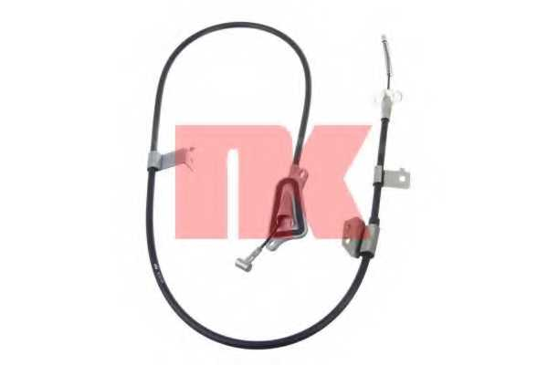 Трос стояночной тормозной системы NK 9022105 - изображение