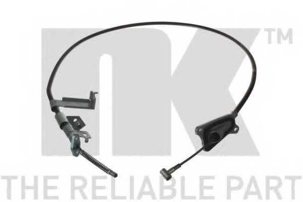 Трос стояночной тормозной системы NK 9022106 - изображение