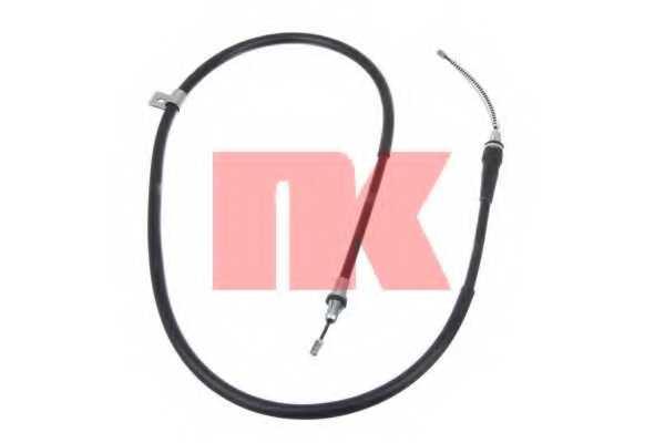 Трос стояночной тормозной системы NK 9022112 - изображение