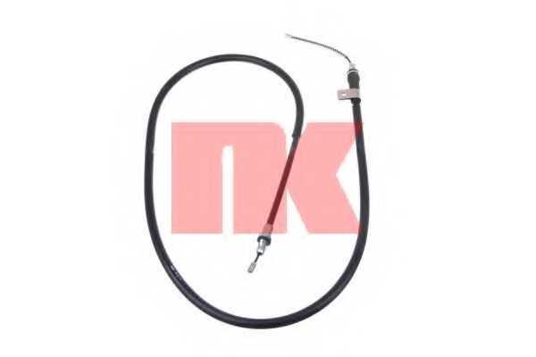 Трос стояночной тормозной системы NK 9022117 - изображение