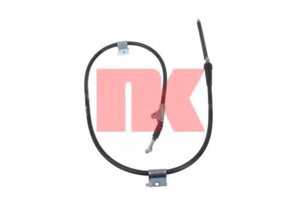 Трос стояночной тормозной системы NK 9022124 - изображение