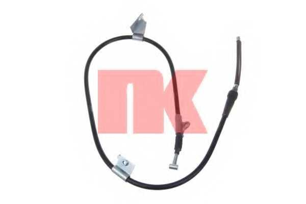 Трос стояночной тормозной системы NK 9022125 - изображение