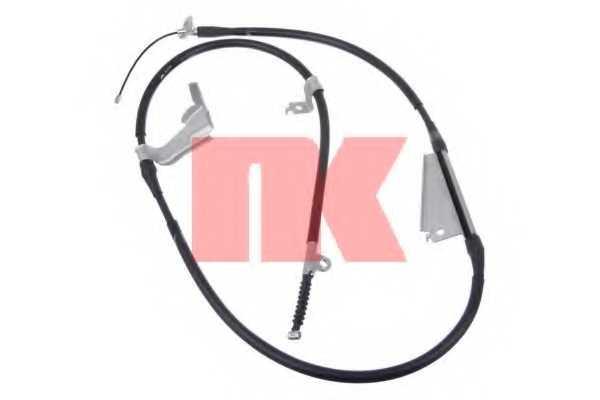 Трос стояночной тормозной системы NK 9022126 - изображение
