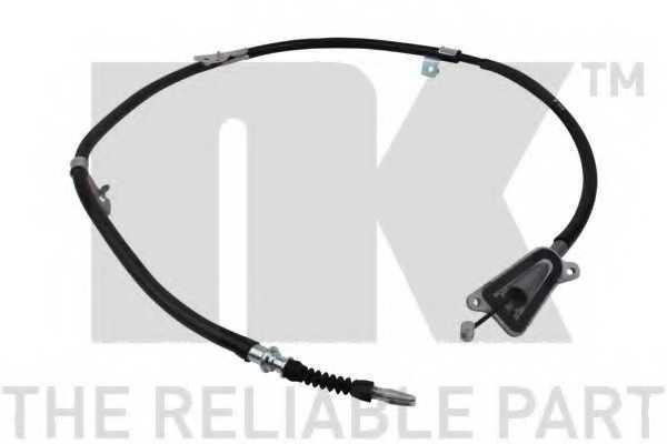 Трос стояночной тормозной системы NK 9022136 - изображение