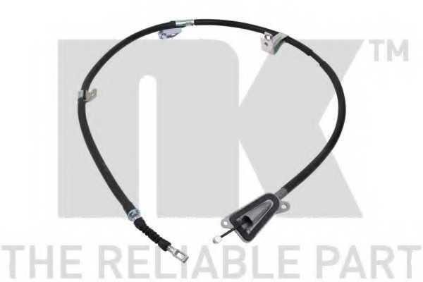 Трос стояночной тормозной системы NK 9022137 - изображение