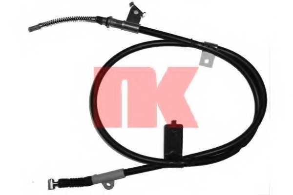 Трос стояночной тормозной системы NK 902256 - изображение