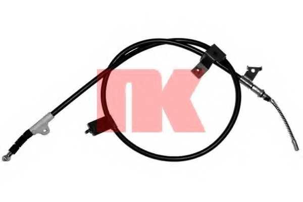 Трос стояночной тормозной системы NK 902257 - изображение