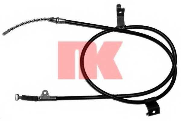 Трос стояночной тормозной системы NK 902258 - изображение