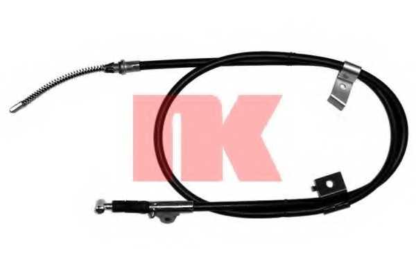 Трос стояночной тормозной системы NK 902259 - изображение