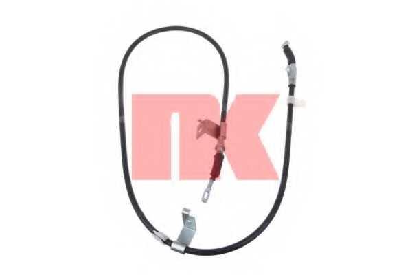 Трос стояночной тормозной системы NK 902260 - изображение