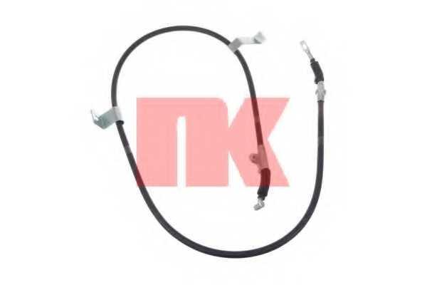 Трос стояночной тормозной системы NK 902261 - изображение