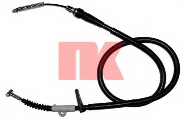 Трос стояночной тормозной системы NK 902262 - изображение