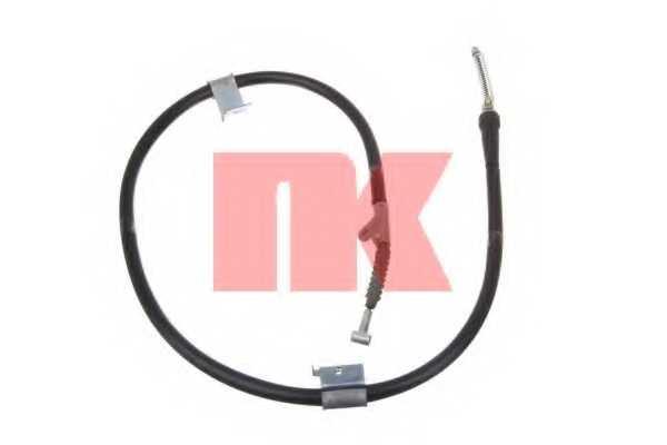 Трос стояночной тормозной системы NK 902275 - изображение