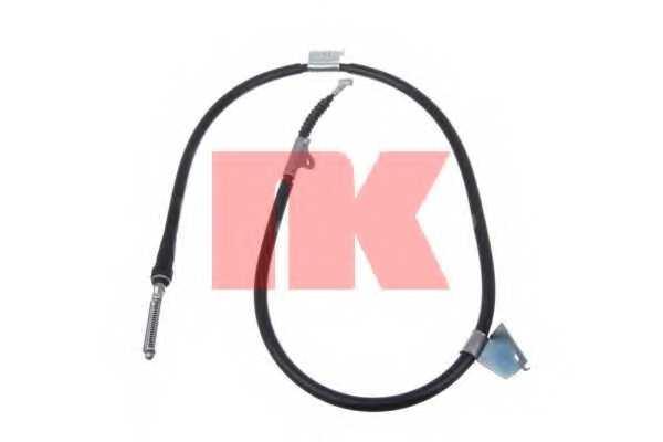 Трос стояночной тормозной системы NK 902276 - изображение