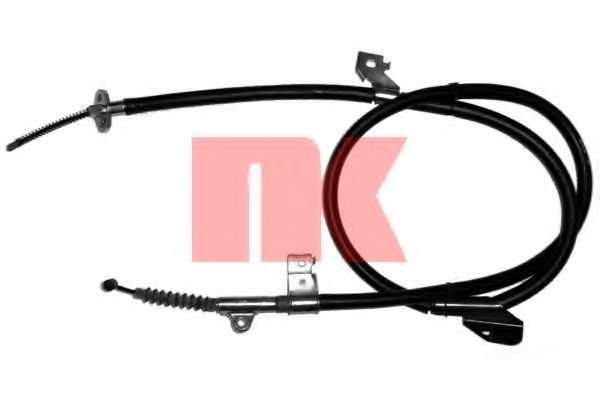 Трос стояночной тормозной системы NK 902286 - изображение