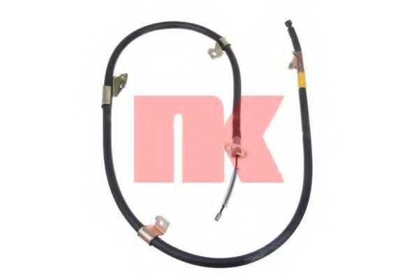 Трос стояночной тормозной системы NK 902287 - изображение