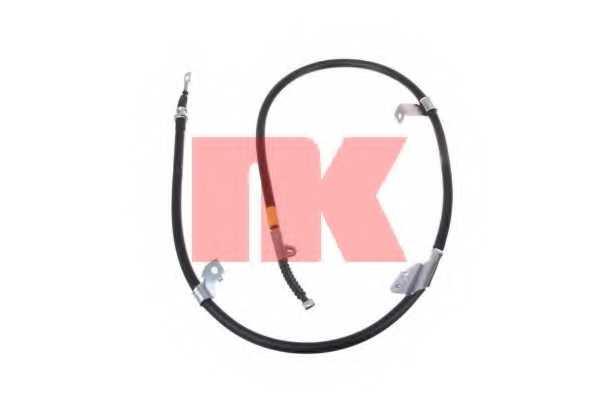 Трос стояночной тормозной системы NK 902288 - изображение
