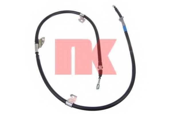 Трос стояночной тормозной системы NK 902289 - изображение