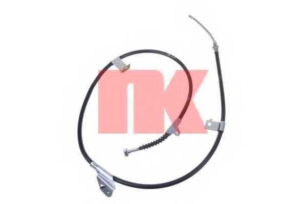Трос стояночной тормозной системы NK 902292 - изображение