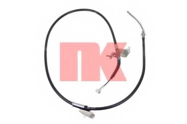 Трос стояночной тормозной системы NK 902293 - изображение