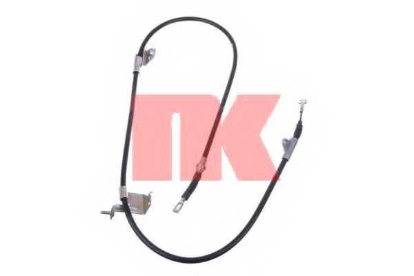 Трос стояночной тормозной системы NK 902295 - изображение
