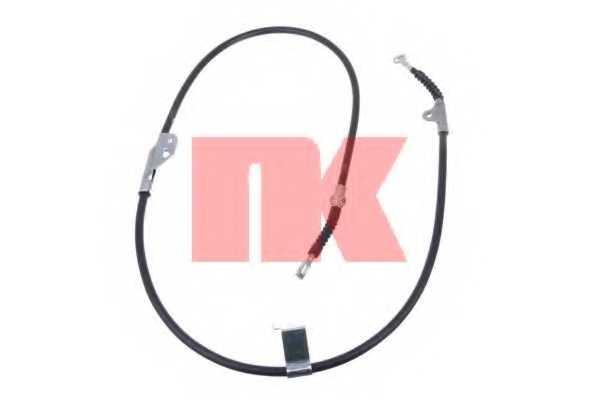 Трос стояночной тормозной системы NK 902296 - изображение