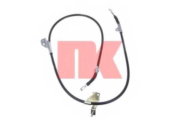 Трос стояночной тормозной системы NK 902297 - изображение