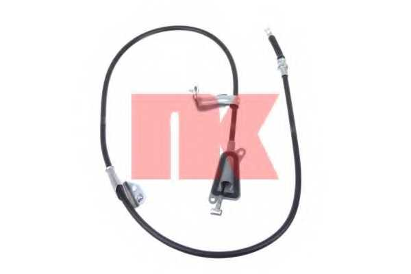 Трос стояночной тормозной системы NK 902299 - изображение